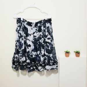 Hanna & Gracie Floral, Midi w/ Pockets & Zipper